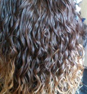 Карвинг для волос или долговременная укладка