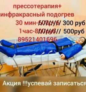 Прессотерапия.лимфодренаж
