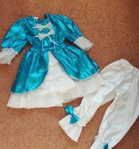 Новогодний костюм «Мальвина»