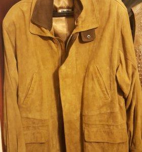 Замшевая куртка мужская 56-58 размер