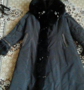 Зимнее пальто 48-50