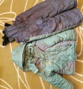 Куртка и комбинезон (зимние)