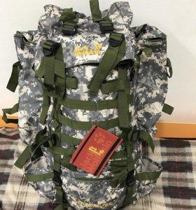 Новый фирменный туристический рюкзак jack wolfskin
