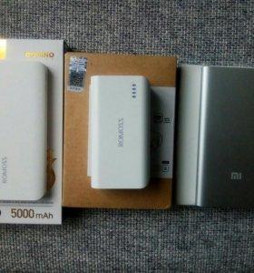 Внешний аккумулятор powerbank xiaomi besiter romos