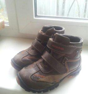 Ботинки на мальчикаи