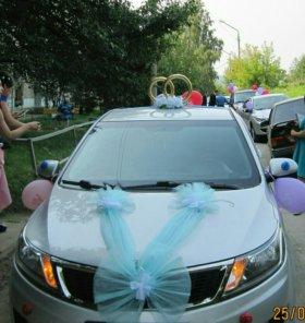 Свадебные укрошения на машину