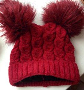 Зимняя шапочка на флисе