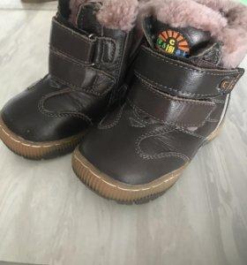 Ботиночки зимние новые
