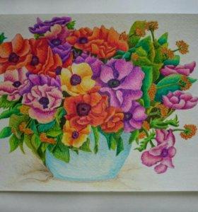 Картина: Букет цветов