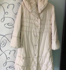Пуховик пальто женский размер L