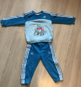 Детский теплый Костюм Adidas на рост 86