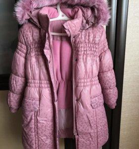 Пальто зимнее детское НОВОЕ