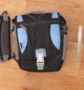 Case logic сумка синяя, для фото или видео камеры