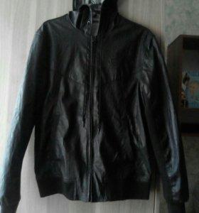 Zara Кожаная мужская куртка