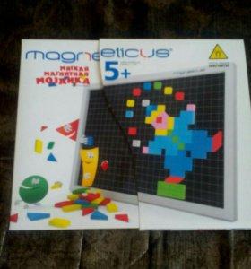Мягкая магнитная мозайка 5+