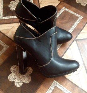 П/ботинки новые