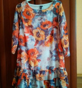 Платье шифон 46-48-50