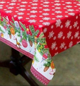 Ткань для скатерти Новогодняя