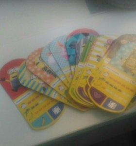 Карточки-Миньоны
