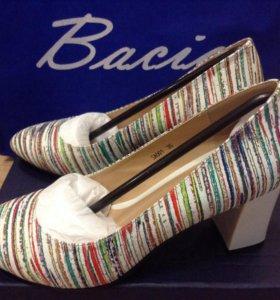 Туфли Bacia из натуральной кожи