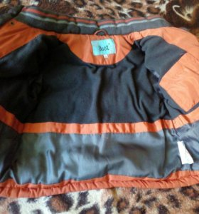 Куртка зимняя с капишоном