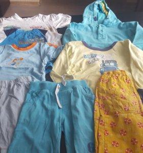 Пакет одежды для мальчика 104/110