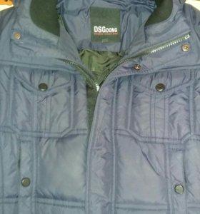 Куртка мужская зимняя б/у размер 48.
