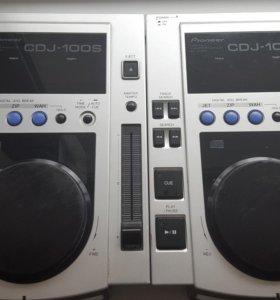 Продам Pioneer cdj 100-S 2 шт.