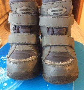 Детские ботинки из мембраны