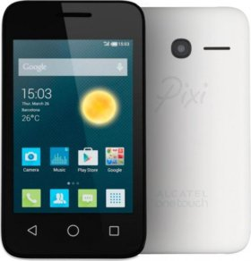 Alcatel ONE TOUCH PIXI 3 (3.5) 4009D белый