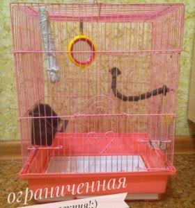 Клетка для попугая, переноска