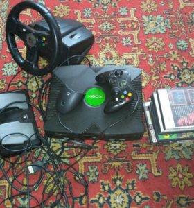 Xbox майкрософт самый первый и руль