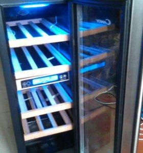 Винный шкаф Candy CCVB60X