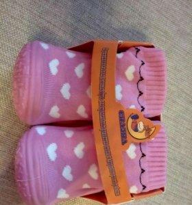 Носки-тапочки (новые)