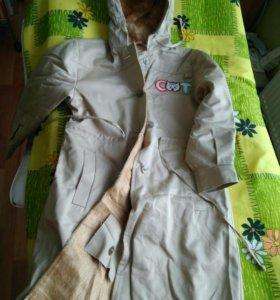 Новый детский плащ-пальто