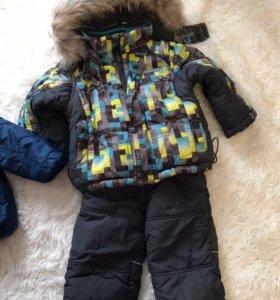 Костюм зимний на мальчика рост 86 см.