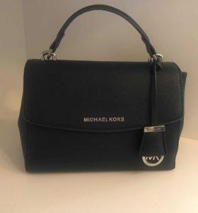 Синяя женская сумка Michael Kors