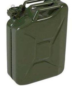 Канистра металлическая КС-20, ГОСТ 5105-82, 20 л