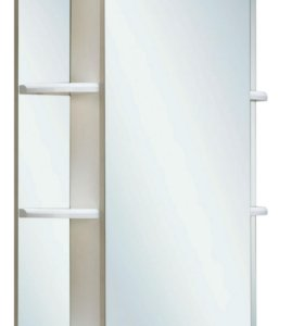 Шкаф для ванной комнаты с подсветкой и зеркалом