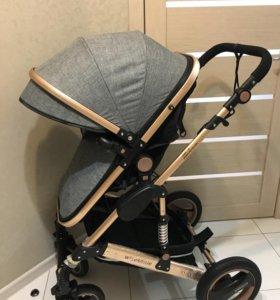 Детская коляска- трансформер 2в1
