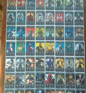 Карточки Draxus Mortal kombat