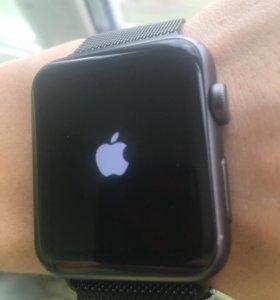 Apple Watch 42mm, black Milanese Loop
