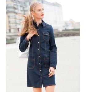 Джинсовое платье (Франция)