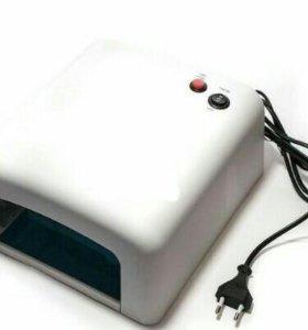 Лампа УФ 36 Вт для сушки гель лака