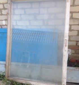 Окно со стеклом