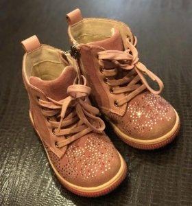 Демисезонные ботиночки 22 размер 14.5 см