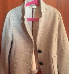 Трикотажный пиджак для девочки!