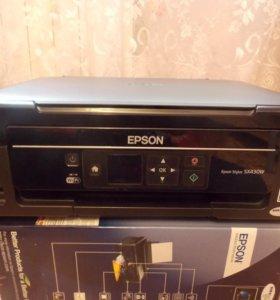 Принтер струйный Epson Stylus SX430W