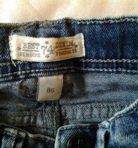 Детские джинсы рост 86