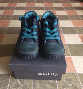 Замшевые ботинки Экко